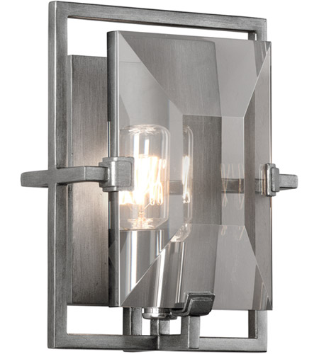 Troy Lighting B2822 Prism 1 Light 7 inch Graphite ADA Wall Sconce Wall Light photo