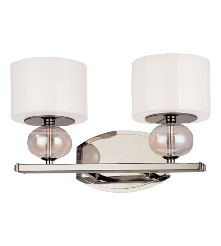 Troy Lighting B2852PN Fizz 2 Light 14 inch Polished Nickel Bath Vanity Wall Light photo