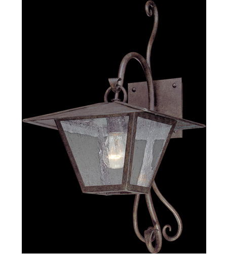 Troy Lighting Potter 1 Light Outdoor Wall in Fired Iron B2951 photo