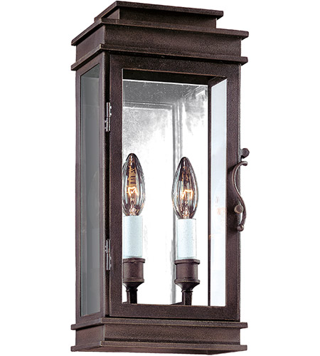 Troy Lighting B2971 Vintage 2 Light 16 inch Vintage Bronze Outdoor Wall in Incandescent  photo