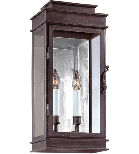 Troy Lighting B2972 Vintage 2 Light 20 inch Vintage Bronze Outdoor Wall in Incandescent photo
