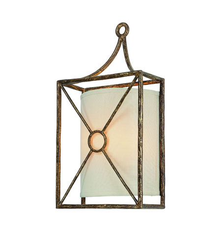 Troy Lighting B3012blf Maidstone 2 Light 9 Inch Bronze Leaf Ada Wall Sconce