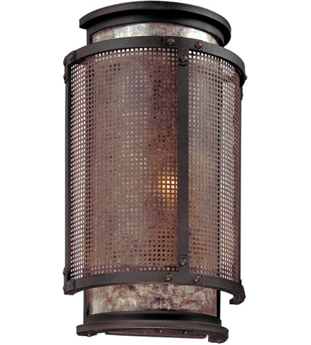 Troy Lighting B3101 Copper Mountain 1 Light 9 inch Bronze Wall Sconce Wall Light photo