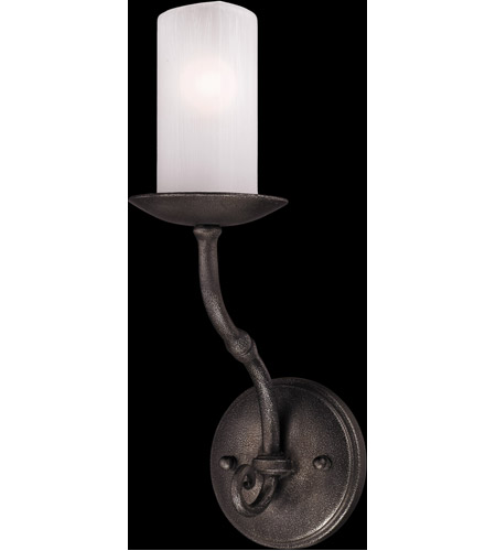 Troy Lighting Prescott 1 Light Wall Sconce in Aged Pewter B3111 photo
