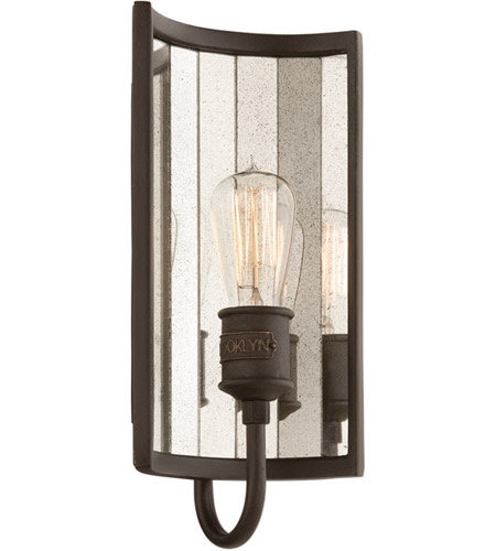 Troy Lighting B3141 Brooklyn 1 Light 7 inch Brooklyn Bronze ADA Wall Sconce Wall Light photo