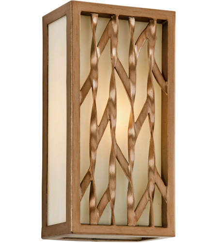 Troy Lighting Serengeti 1 Light Outdoor Wall in Painted Bronze Leaf B3162 photo