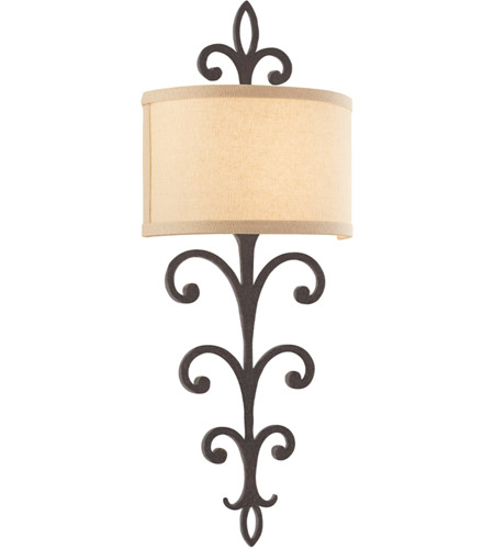 Troy Lighting B3172 Crawford 2 Light 11 inch Cottage Bronze Wall Sconce Wall Light in Incandescent photo