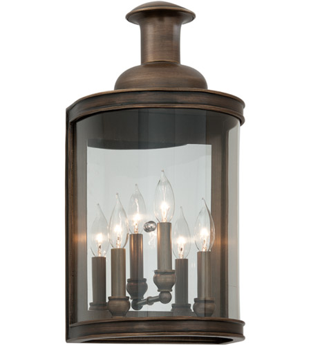 Troy Lighting B3193 Pullman 3 Light 20 inch English Bronze Outdoor Wall photo