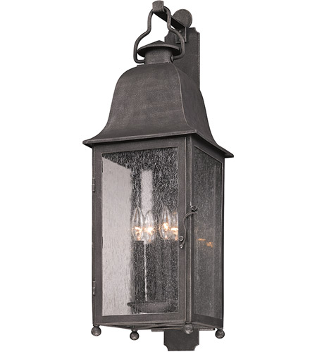 Troy Lighting B3213 Larchmont 4 Light 32 inch Aged Pewter Outdoor Wall in Incandescent photo