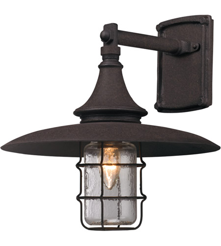 Troy Lighting B3221 Allegany 1 Light 13 inch Centennial Rust Outdoor Wall  photo