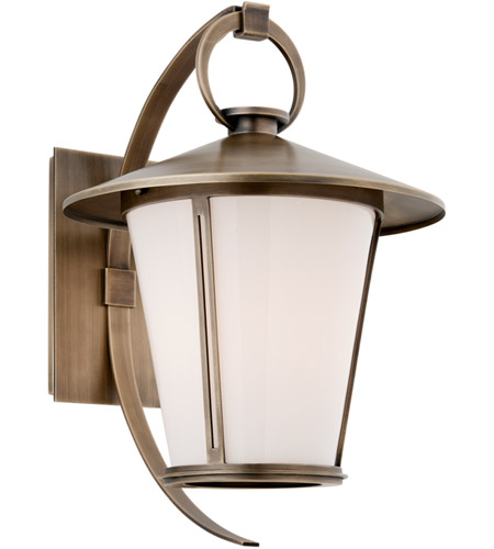 Troy Lighting B3253 Rennie 1 Light 16 inch Antique Brass Outdoor Wall photo