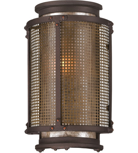Troy Lighting B3271 Copper Mountain 1 Light 11 inch Bronze Outdoor Wall photo