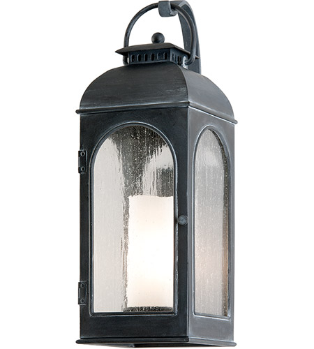 Troy Lighting Derby 1 Light Outdoor Wall in Antique Iron B3282 photo