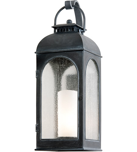 Troy Lighting Derby 1 Light Outdoor Wall in Antique Iron B3283 photo