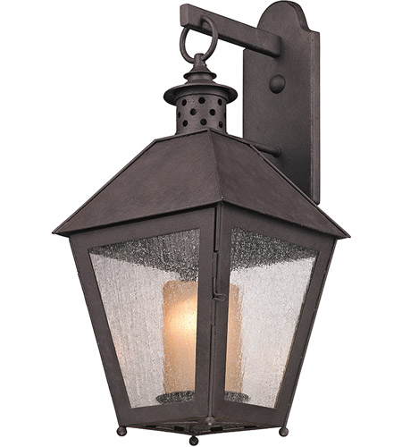 Troy Lighting B3293 Sagamore 1 Light 23 inch Centennial Rust Outdoor Wall in Incandescent photo