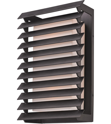 Troy Lighting Shutters 2 Light Outdoor Wall in Forged Iron B3303 photo