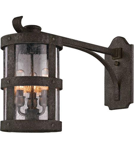 Troy Lighting B3315 Barbosa 3 Light 15 inch Barbosa Bronze Outdoor Wall in Incandescent photo