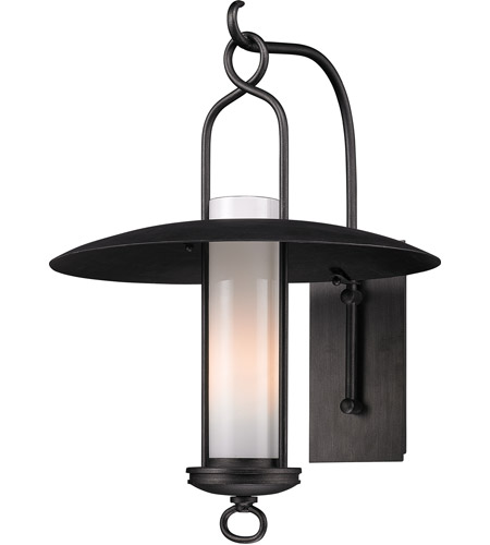 Troy Lighting Carmel 1 Light Outdoor Wall in Graphite B3333 photo