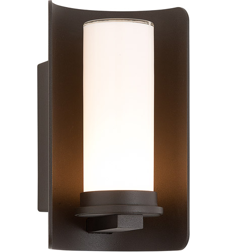 Troy Lighting Drake 1 Light Outdoor Wall in Bronze B3391 photo