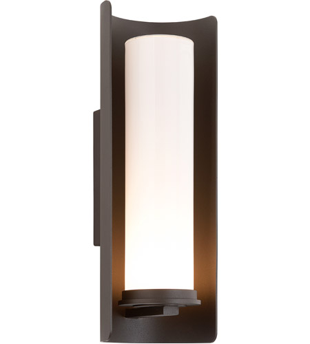 Troy Lighting Drake 1 Light Outdoor Wall in Bronze B3393 photo
