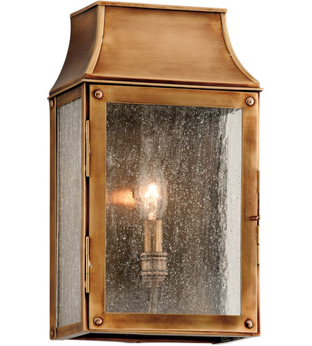 Troy Lighting B3421 Beacon Hill 1 Light 13 Inch Heirloom Br Outdoor Wall