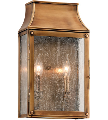 Troy Lighting B3422 Beacon Hill 2 Light 16 Inch Heirloom Br Outdoor Wall