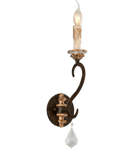 Troy Lighting B3511 Bordeaux 1 Light 5 inch Parisian Bronze Wall Sconce Wall Light photo
