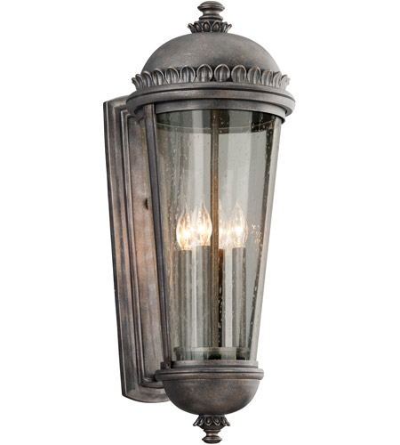 Troy Lighting B3564 Ambassador 4 Light 28 inch Aged Pewter Outdoor Wall Lantern photo