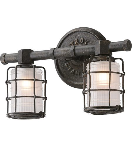 troy lighting b3842 mercantile 2 light 14 inch vintage