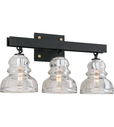 troy lighting b3963 menlo park 3 light 21 inch deep bronze