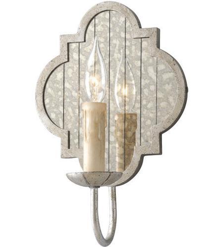 Troy Lighting B3981 Gramercy 1 Light 9 inch Silver Leaf Wall Sconce Wall Light