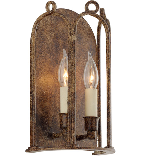 Troy Lighting B4832 Carousel 2 Light 8 inch Provence Bronze Wall Sconce Wall Light photo