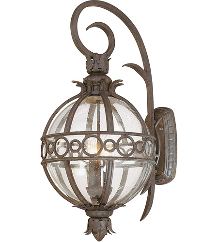 Troy Lighting Campanile 3 Light Outdoor Wall Lantern in Campanile Bronze B5003CB photo