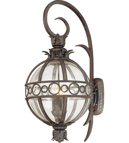 Troy Lighting Campanile 4 Light Outdoor Wall Lantern in Campanile Bronze B5004CB photo