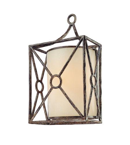 Troy Lighting Maidstone 1 Light Outdoor Wall Lantern In Bronze Leaf B5023blf