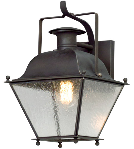 Troy Lighting B5071CI Adams 1 Light 14 inch Colonial Iron Outdoor Wall Lantern photo
