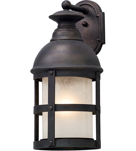 Troy Lighting B5153 Webster 1 Light 22 inch Vintage Bronze Outdoor Wall Light in Incandescent photo
