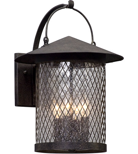 Troy Lighting B5173 Altamont 4 Light 17 inch French Iron Outdoor Wall Light photo