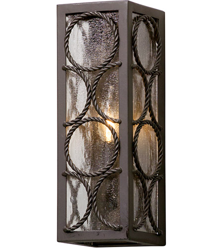 Troy Lighting B5221 Bacchus 1 Light 14 inch Textured Bronze Outdoor Wall Light photo