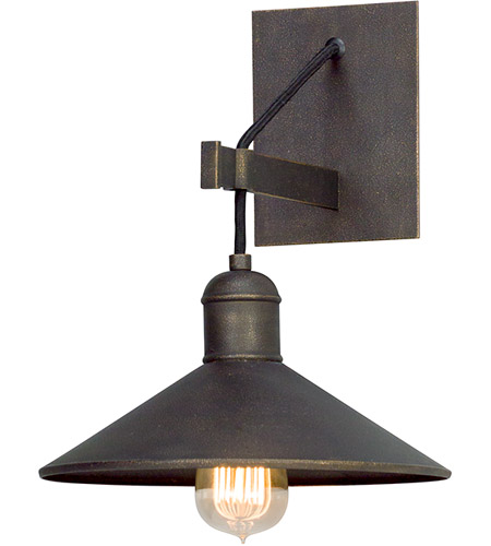 Troy Lighting B5421 McCoy 1 Light 10 inch Vintage Bronze Wall Sconce Wall Light photo