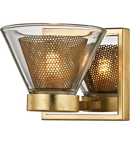 Troy Lighting B5821 Wink LED 5 inch Gold Leaf and Polished Chrome ...