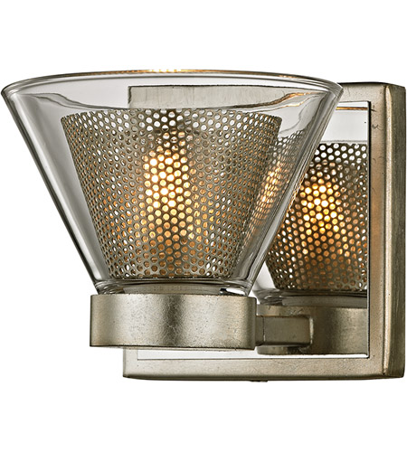 Troy Lighting B5831 Wink LED 5 inch Silver Leaf and Polished Chrome ...