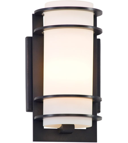 Troy Lighting B6061ARB Vibe 1 Light Architectural Bronze Outdoor Wall Lantern in Incandescent photo