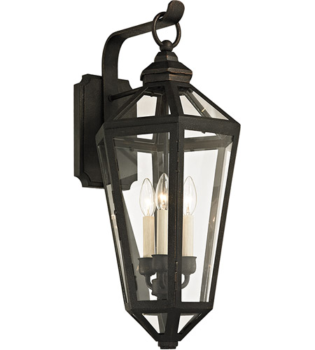 Troy Lighting B6373 Calabasas 3 Light 26 inch Vintage Bronze Outdoor Wall Sconce photo
