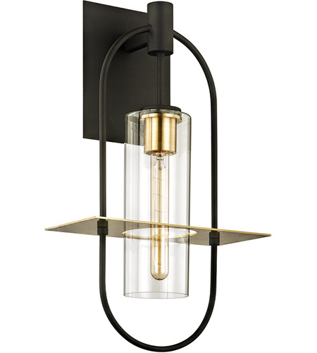 Iron and Brass Wall Sconces