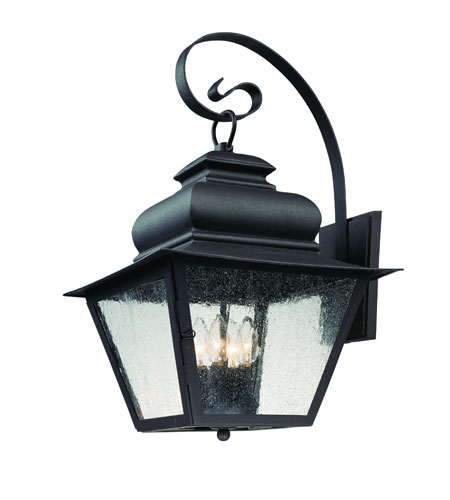 Troy Lighting Livingston 4 Light Outdoor Wall Lantern in Natural Bronze B7003NB photo