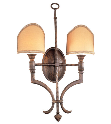 Troy Lighting Hawthorne 2 Light Wall Sconce in Gilded Bronze B8852GB photo