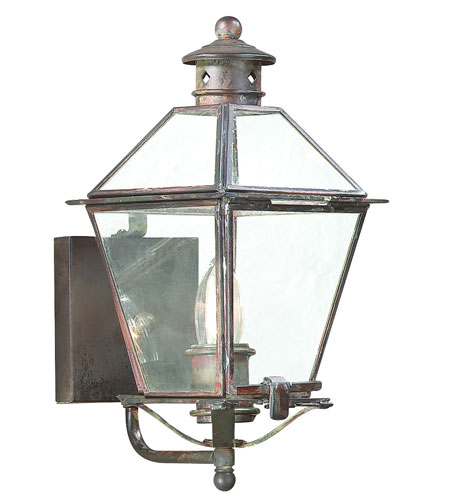 Troy Lighting Montgomery 1 Light Outdoor Wall Lantern in Natural Rust B8950NR photo