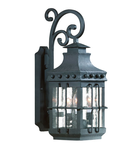 Troy Lighting B8971NB-D Dover 1 Light 23 inch Natural Bronze Outdoor Wall Lantern in Incandescent, Dark Sky photo