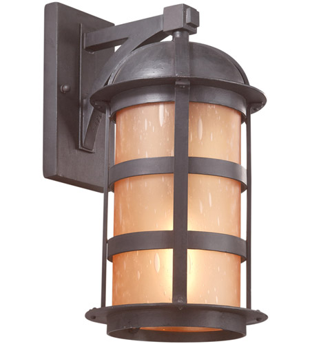 Troy Lighting B9253NB Aspen 1 Light 17 inch Natural Bronze Outdoor Wall Lantern in Incandescent photo